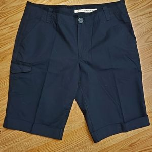 DKNY Jean's Womens Cuffed Cargo Shorts  10
